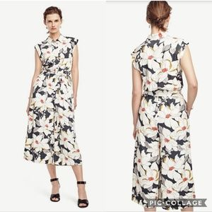 Other - NEW Ann Taylor Floral Jumpsuit Vacation Outfit 8